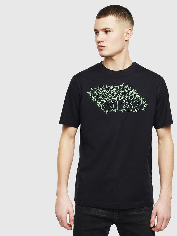 T-JUST-T20, Noir - T-Shirts