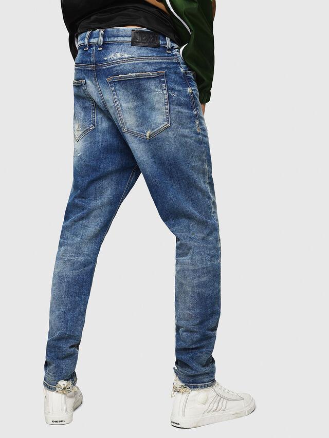 Diesel - D-Vider JoggJeans 0870Q, Bleu moyen - Jeans - Image 2