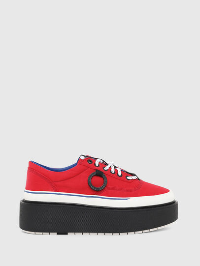 Diesel - H-SCIROCCO LOW, Rouge Flamme - Baskets - Image 1