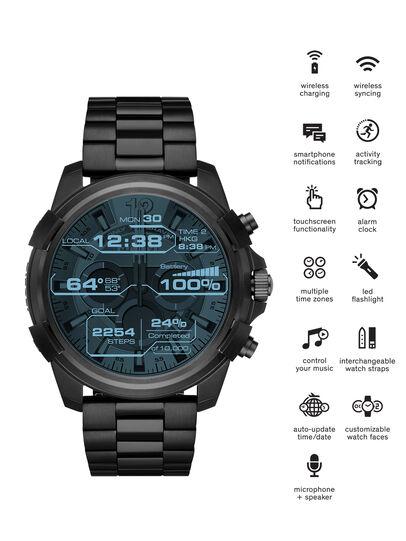 Diesel - DT2007, Noir - Smartwatches - Image 1