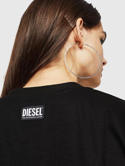 Diesel - D-FELIXER, Noir - Robes - Image 3