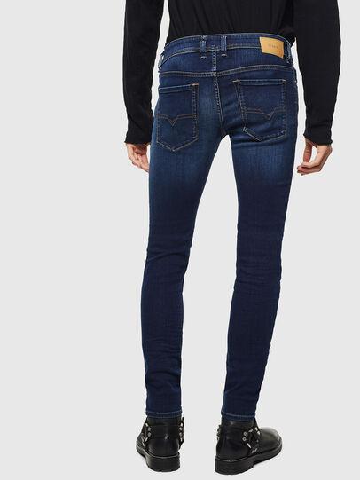 Diesel - Sleenker 084RI, Bleu Foncé - Jeans - Image 2