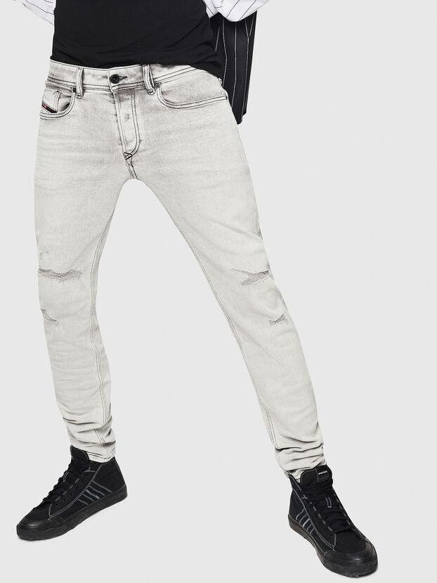 Sleenker 0090F, Gris Clair - Jeans