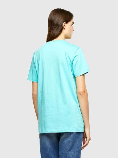 Diesel - T-DARIA-R2, Azur - T-Shirts - Image 2