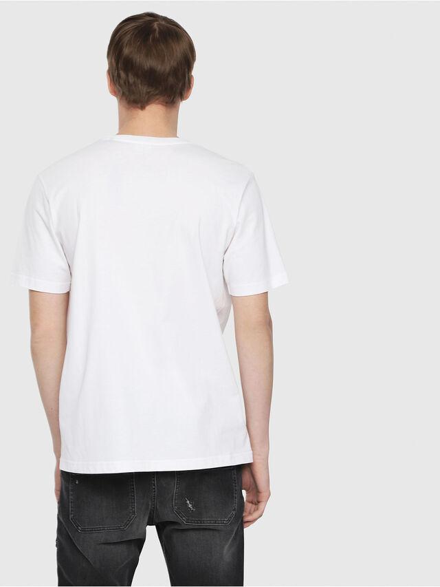 Diesel - T-JUST-DIE, Blanc - T-Shirts - Image 2