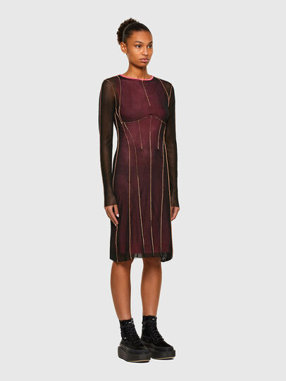 Diesel - D-VINA, Rose/Noir - Robes - Image 6
