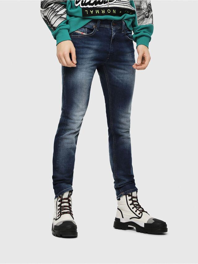 Diesel - Thommer 084GR, Bleu moyen - Jeans - Image 1