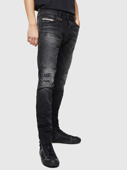 Diesel - Tepphar 069DW, Noir/Gris foncé - Jeans - Image 4