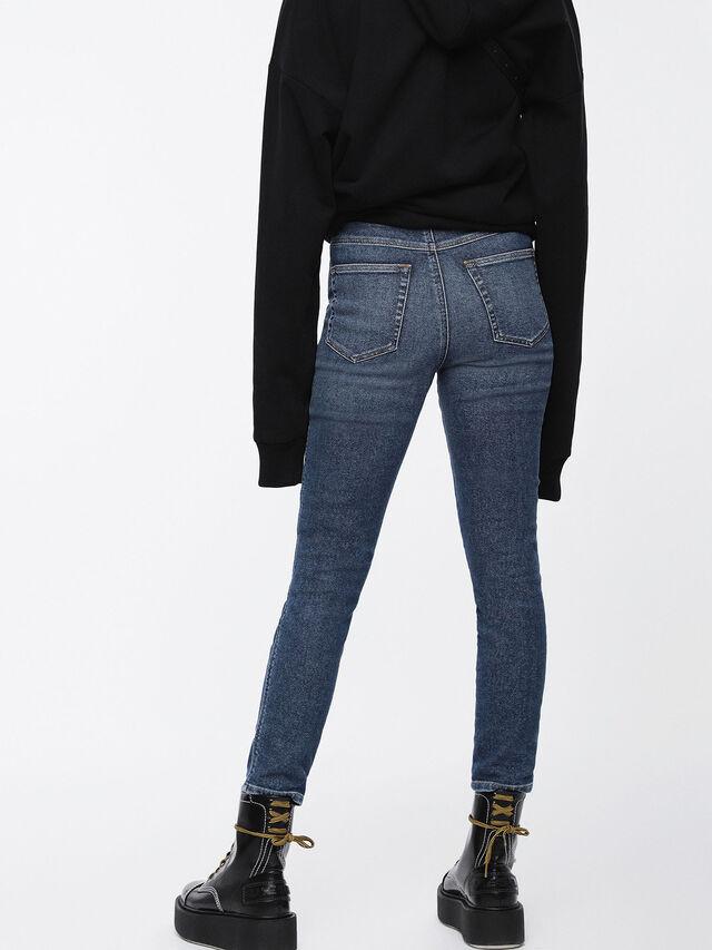 Diesel - Babhila High 085AD, Bleu moyen - Jeans - Image 2