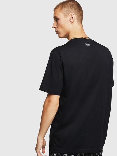 Diesel - T-JUST-B15, Noir - T-Shirts - Image 2