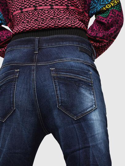 Diesel - Fayza JoggJeans 069IE, Bleu Foncé - Jeans - Image 4