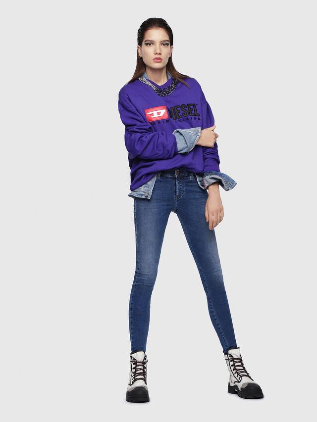 Diesel - Slandy 084NM, Bleu moyen - Jeans - Image 3
