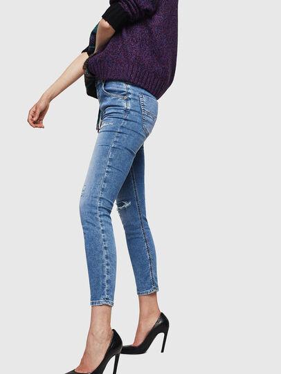 Diesel - Krailey JoggJeans 069IH, Bleu Clair - Jeans - Image 3