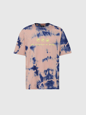 T-JUST-SLITS-X86, Rose/Bleu - T-Shirts
