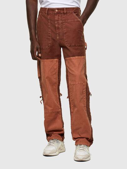 Diesel - D-Franky JoggJeans® 0DDAW, Marron - Jeans - Image 1