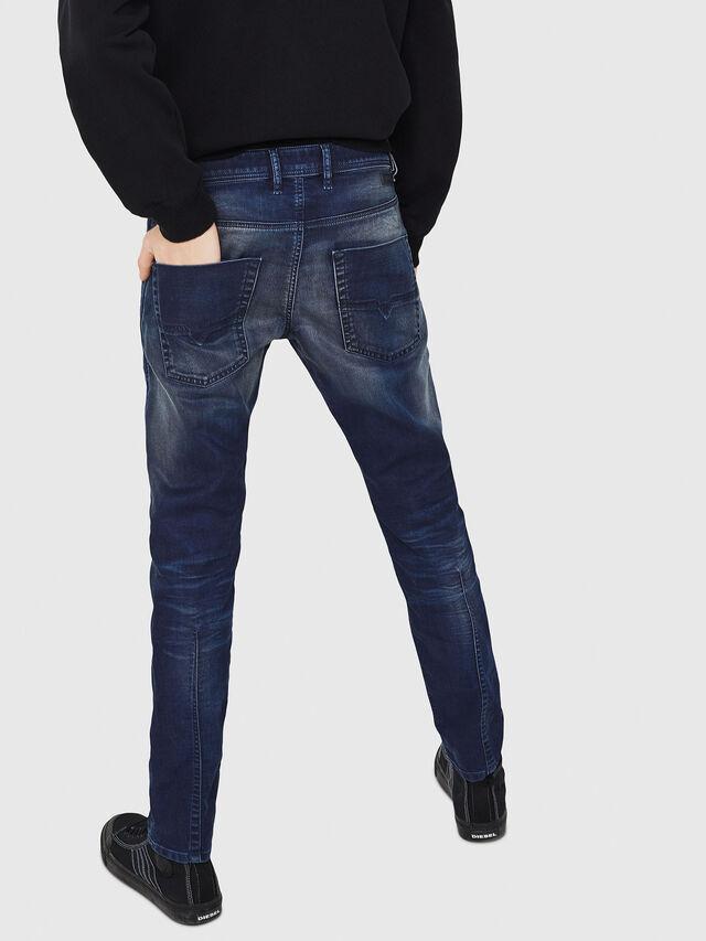 Diesel - Krooley JoggJeans 069GZ, Bleu Foncé - Jeans - Image 2