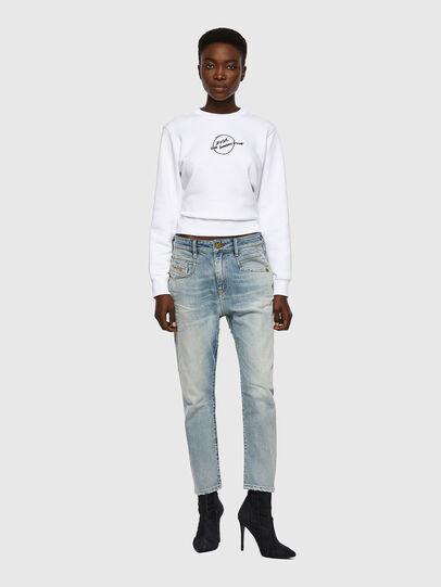 Diesel - Fayza 09A04, Bleu Clair - Jeans - Image 5