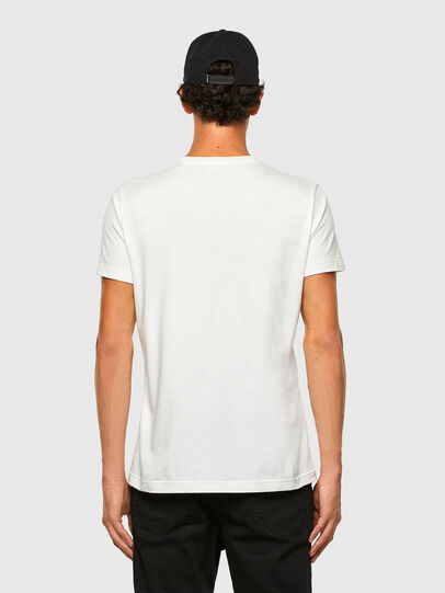 Diesel - T-WORKY-MOHI, Blanc - T-Shirts - Image 5