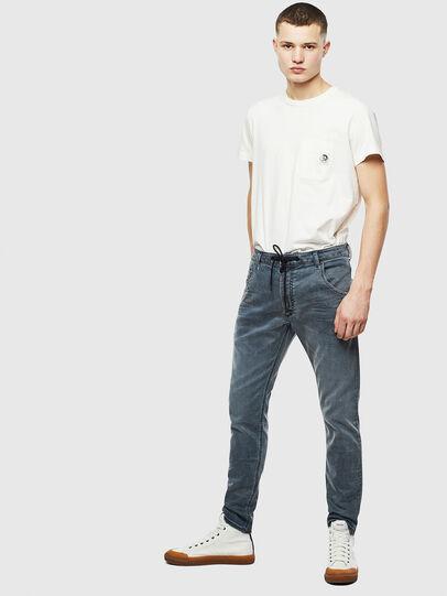 Diesel - Krooley JoggJeans 069LT, Bleu Foncé - Jeans - Image 6
