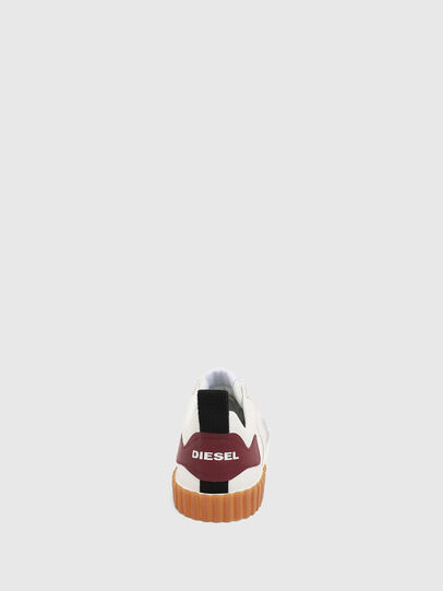 Diesel - S-BULLY LC, Blanc/Rouge - Baskets - Image 7