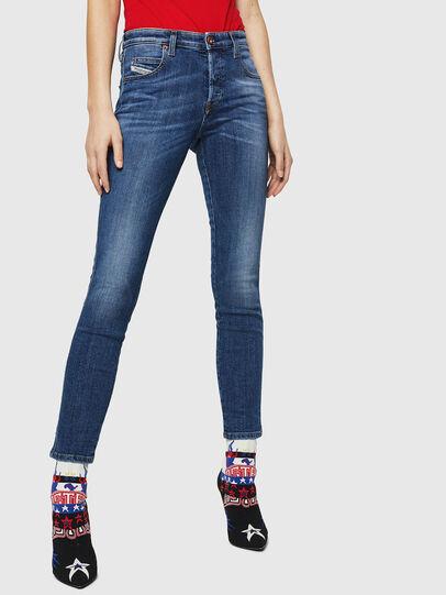 Diesel - Babhila 069FZ, Bleu moyen - Jeans - Image 1