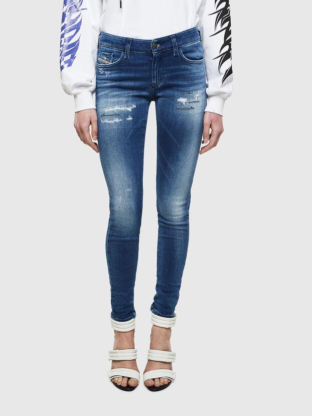 Slandy 009IG, Bleu moyen - Jeans