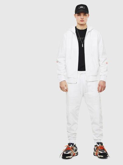Diesel - S-DIEX, Blanc - Pull Cotton - Image 8