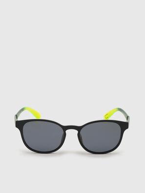 DL0328, Noir/Jaune - Lunettes de soleil