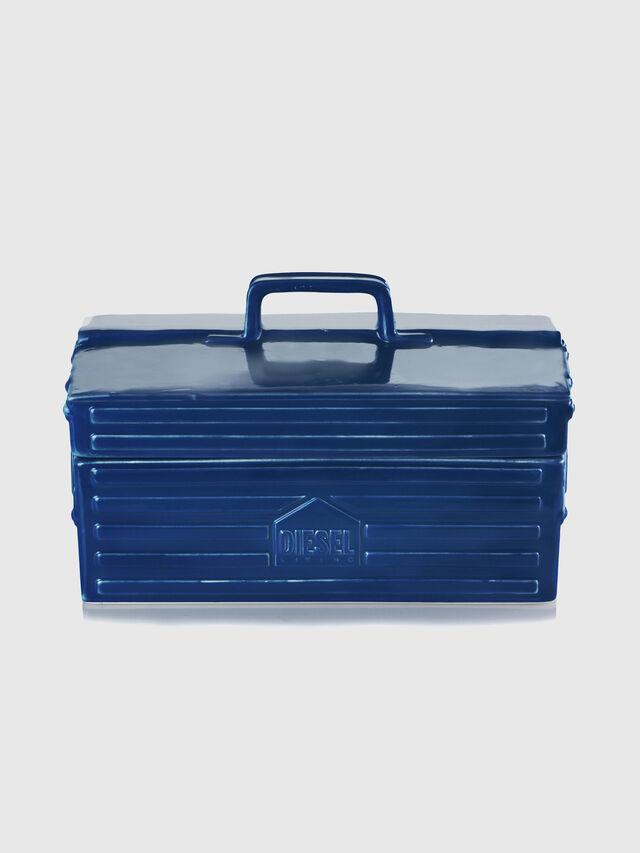 Diesel - 11056 WORK IS OVER, Bleu - Accessoires de Maison - Image 2