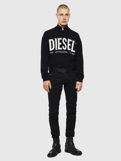 Diesel - Sleenker 069EI, Noir/Gris foncé - Jeans - Image 5