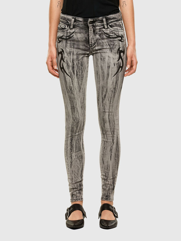 Slandy 069NH, Gris Clair - Jeans