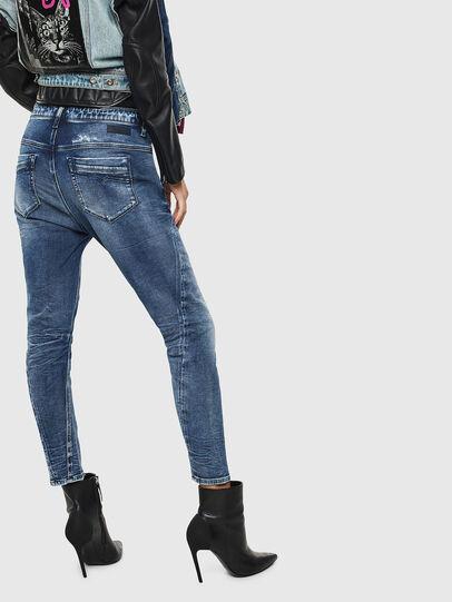 Diesel - Fayza JoggJeans 0096M, Bleu Foncé - Jeans - Image 2