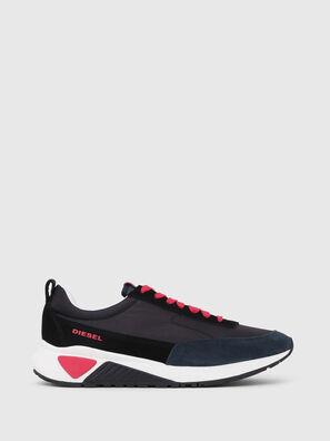 S-KB LOW LACE, Noir/Rouge - Baskets