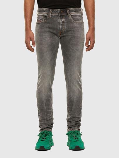 Diesel - Sleenker 009FW, Gris Clair - Jeans - Image 1