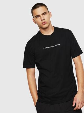 T-JUST-COPY, Noir - T-Shirts