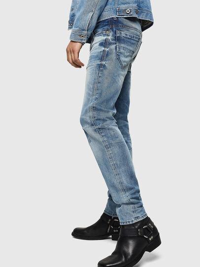Diesel - Thommer 0092F, Bleu Clair - Jeans - Image 5