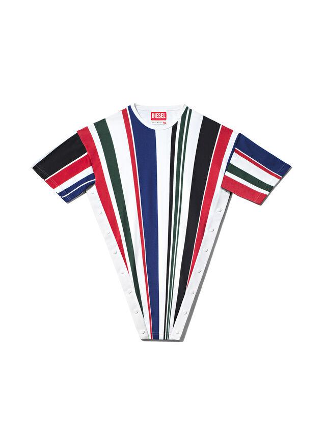 Diesel - GMPL02, Polychrome/Blanc - T- Shirts - Image 1