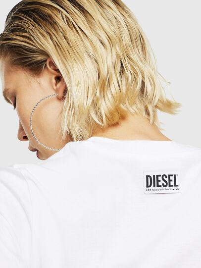 Diesel - T-SILY-YB, Blanc - T-Shirts - Image 4