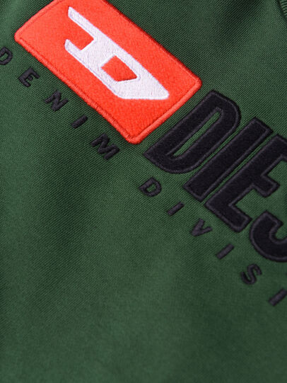 Diesel - SCREWDIVISION OVER, Vert Bouteille - Pull Cotton - Image 3