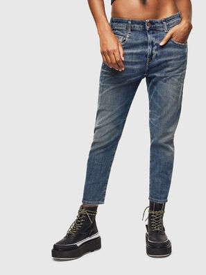 Fayza 0890Y, Bleu moyen - Jeans