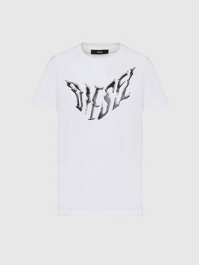 Diesel - T-SILY-K2, Blanc - T-Shirts - Image 1