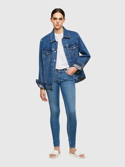 Diesel - Slandy 069RR, Bleu Clair - Jeans - Image 4