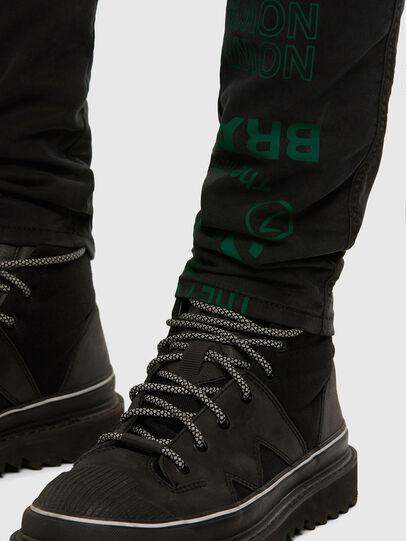 Diesel - D-Reeft JoggJeans 009HD, Noir/Gris foncé - Jeans - Image 8