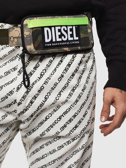 Diesel - BELT RUBBER CASE BIG, Vert Camouflage - Portefeuilles Continental - Image 6