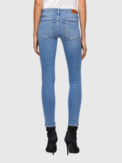 Diesel - Slandy Low 009ZY, Bleu Clair - Jeans - Image 2