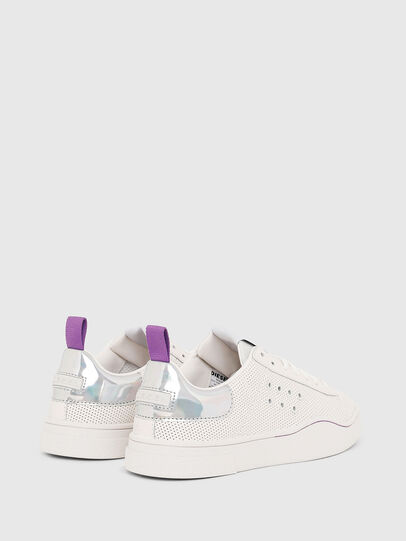 Diesel - S-CLEVER LC W, Blanc/Rose - Baskets - Image 3