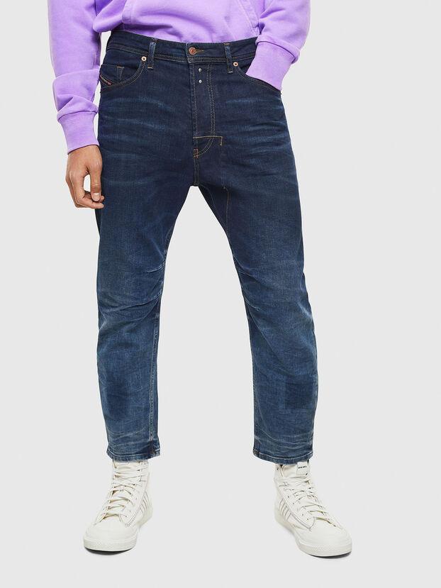 Narrot 0097U, Bleu Foncé - Jeans
