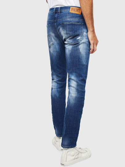 Diesel - Thommer JoggJeans 0099S, Bleu Foncé - Jeans - Image 2