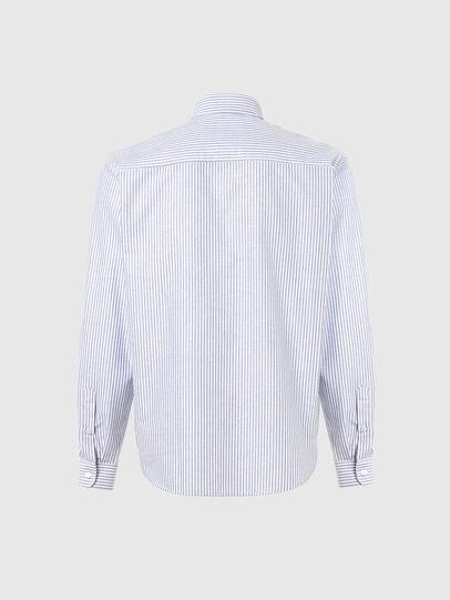 Diesel - S-JAMES-A, Bleu/Blanc - Chemises - Image 2