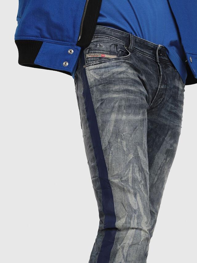 Diesel - Sleenker 069DH, Bleu Foncé - Jeans - Image 3